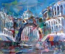 Domes and Arches by Marijus Jusionis -  sized 47x39 inches. Available from Whitewall Galleries
